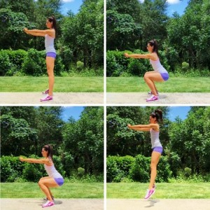 Exercise 1: Squats / Jump Squats