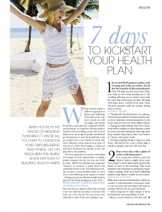 7 Days to Kickstart Your Health Plan